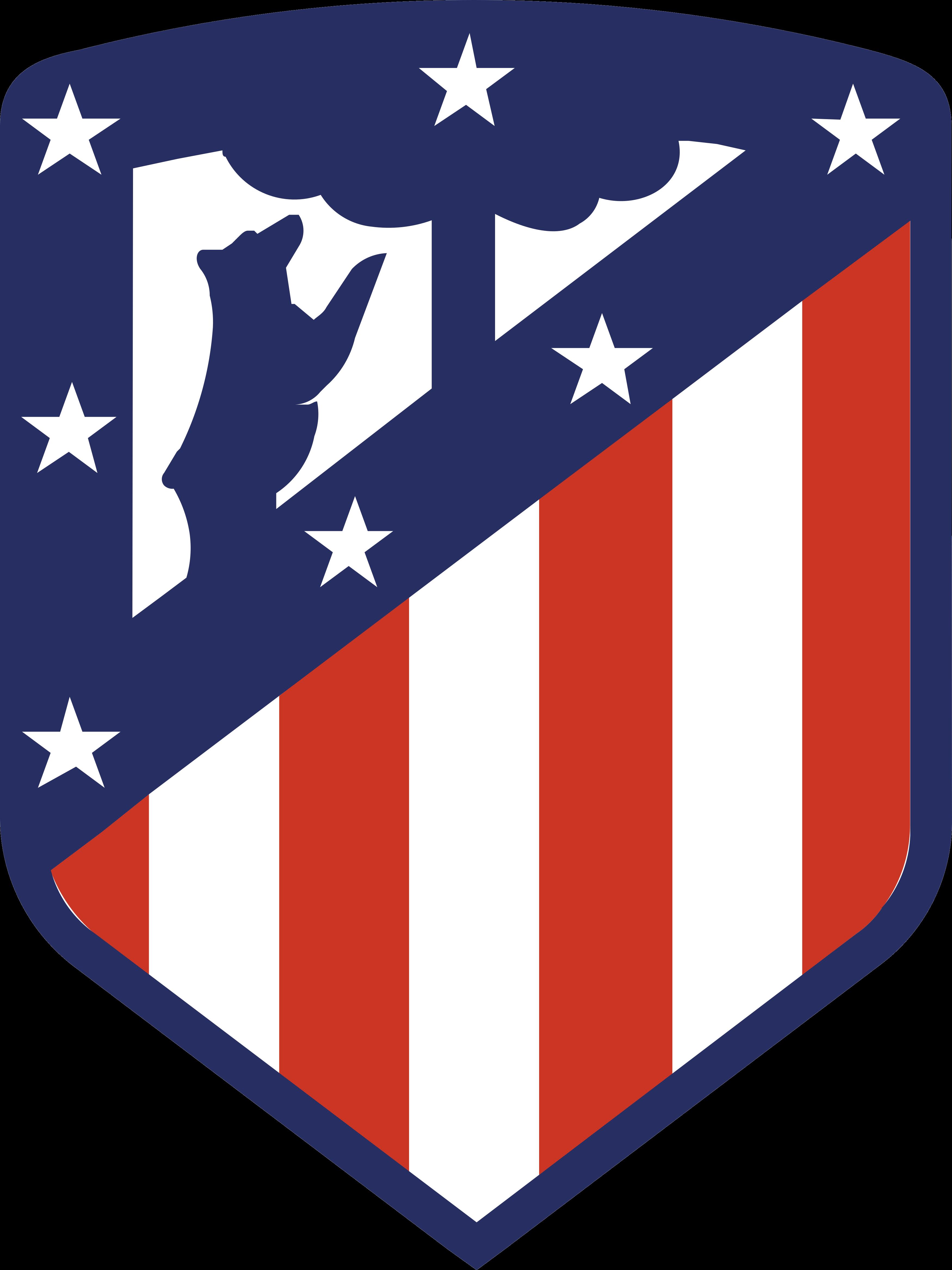 atletico madrid logo - Club Atlético de Madrid Logo - Escudo