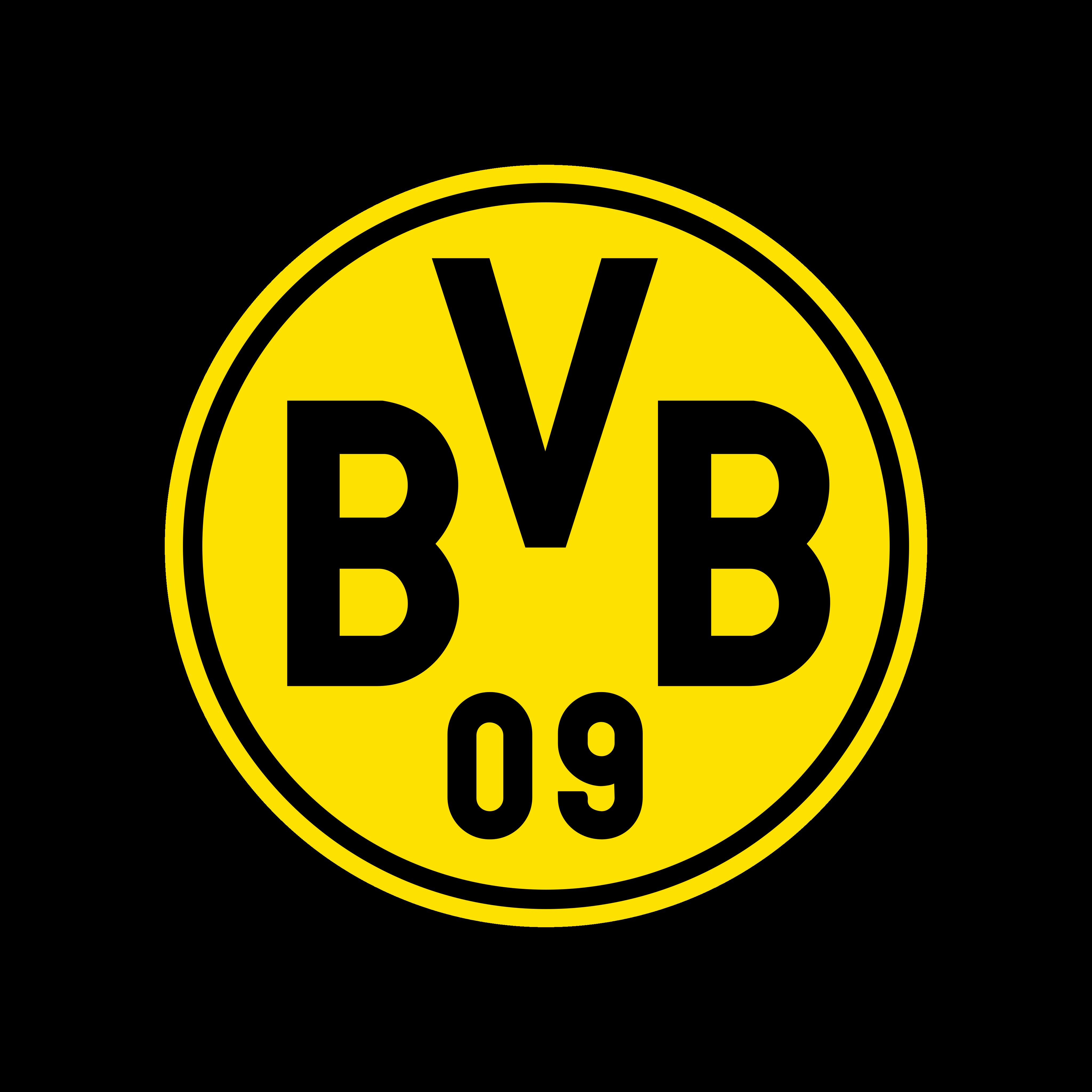 bvb borussia dortmund logo 0 - Borussia Dortmund Logo