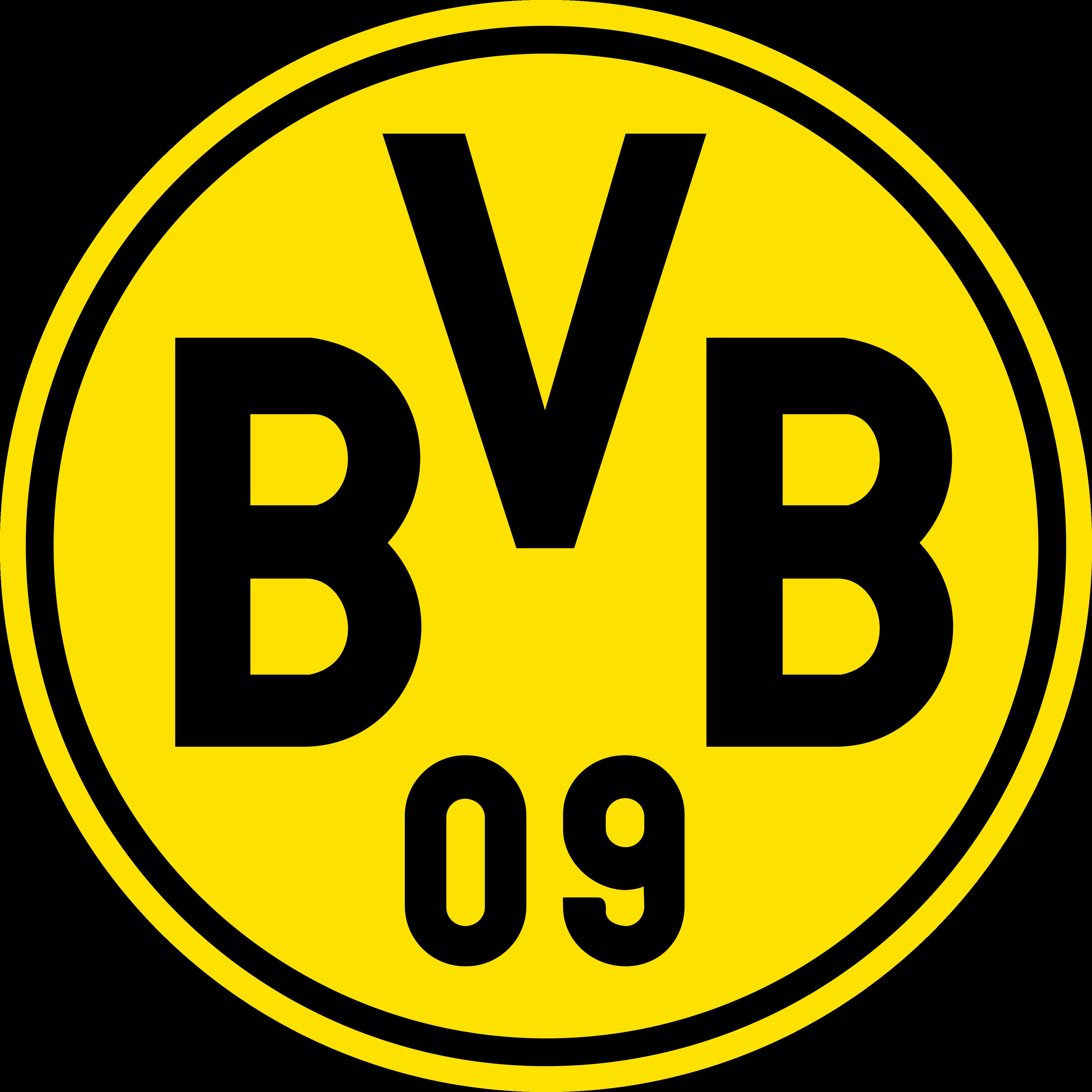 bvb borussia dortmund logo - Borussia Dortmund Logo