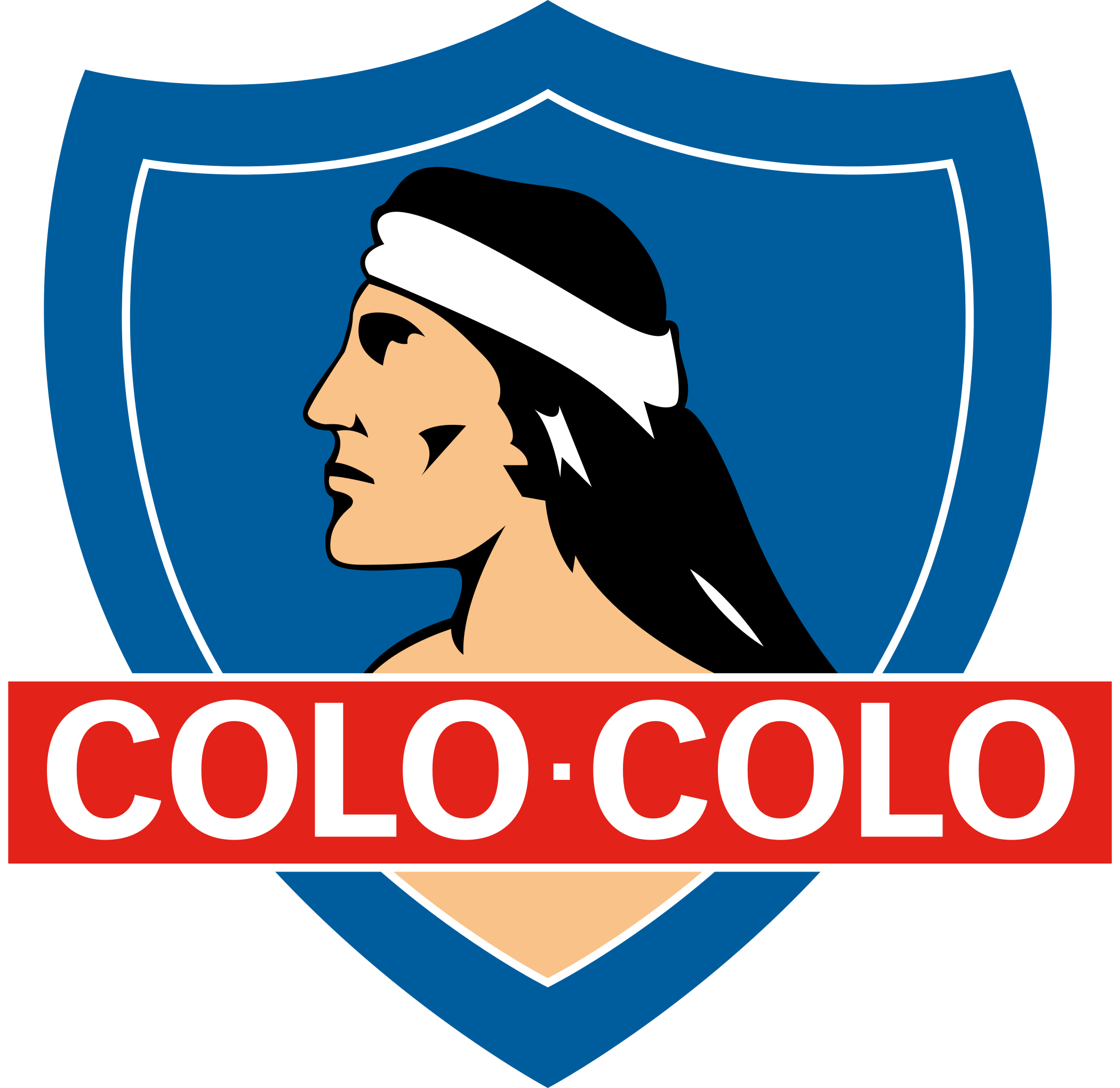 colo colo logo escudo 1 - Colo Colo Logo - Escudo