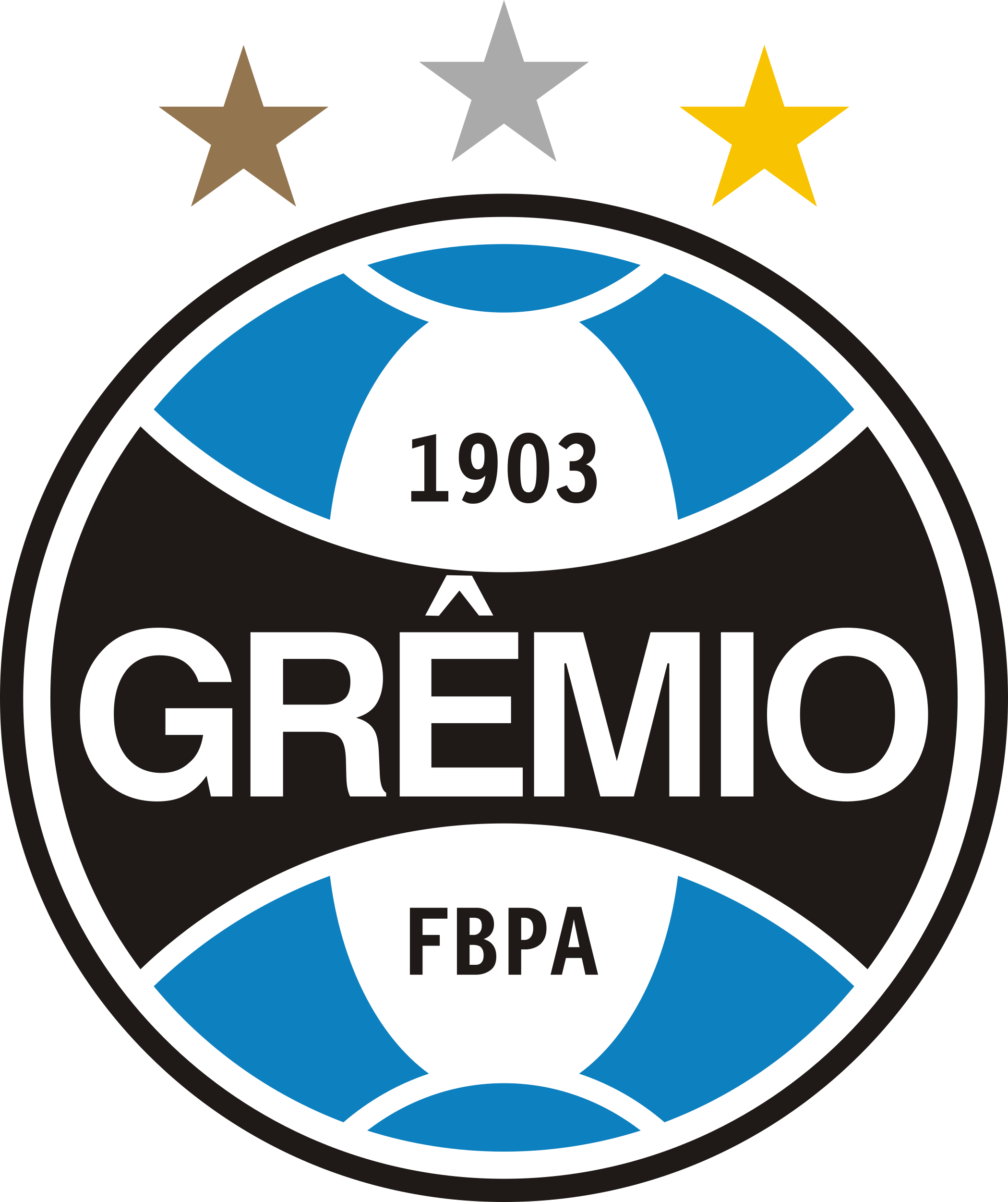 gremio logo escudo 1 - Grêmio Logo - Grêmio Escudo