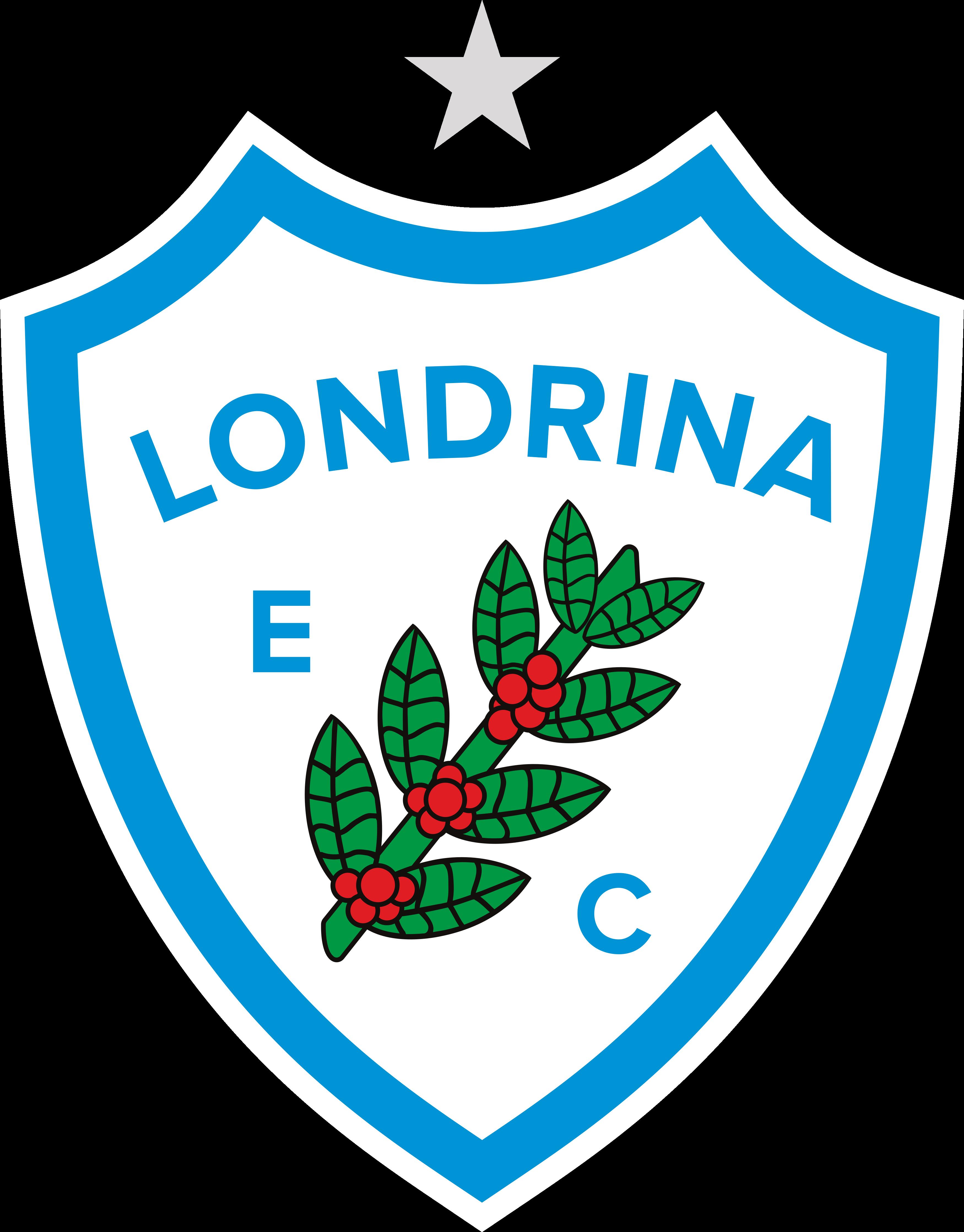 Londrina EC Logo, Escudo.