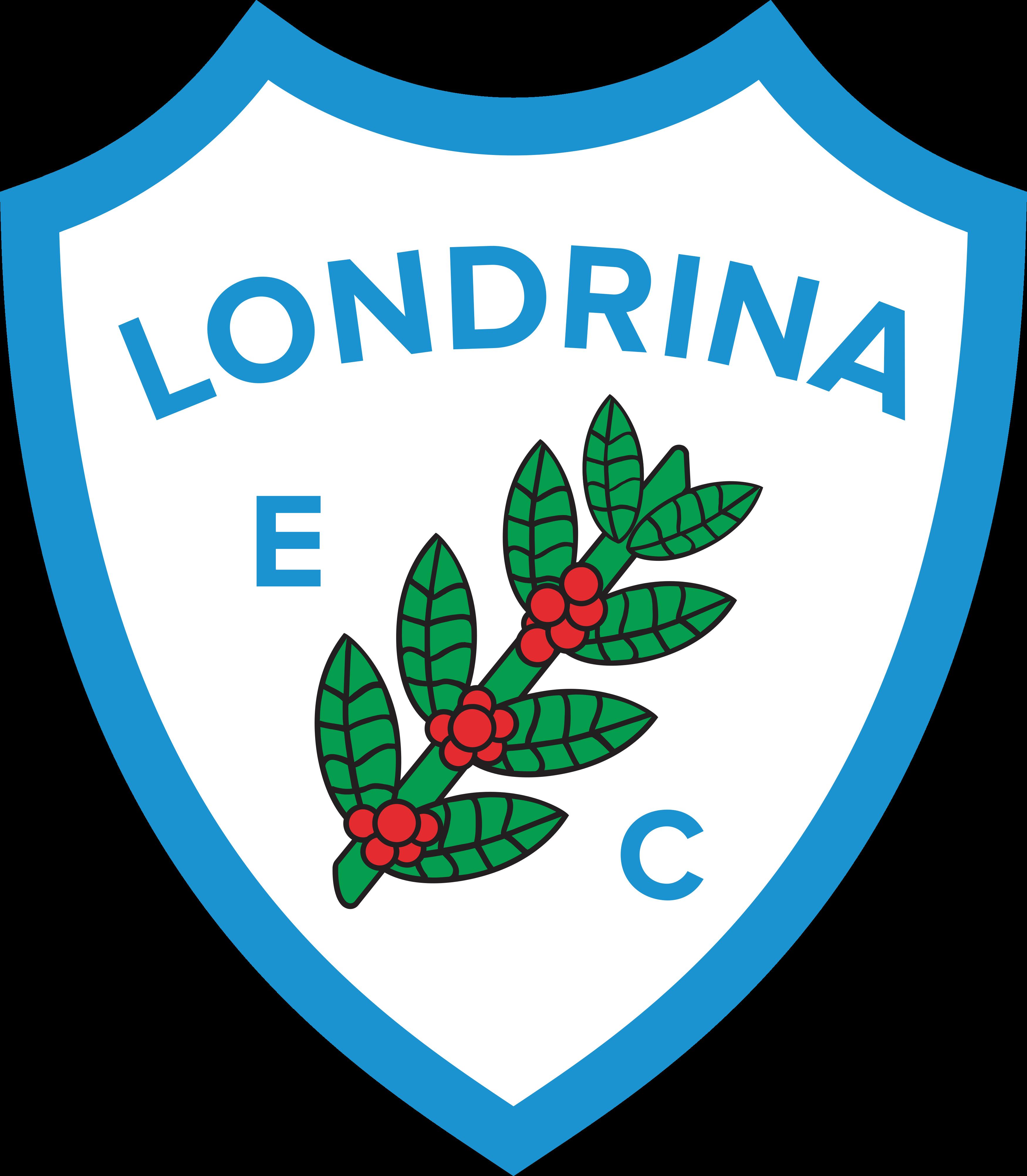 londrina ec logo escudo 2 - Londrina Logo - Escudo - Londrina Esporte Clube Logo - Escudo
