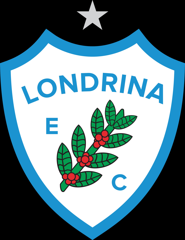 londrina ec logo escudo - Londrina Logo - Escudo - Londrina Esporte Clube Logo - Escudo