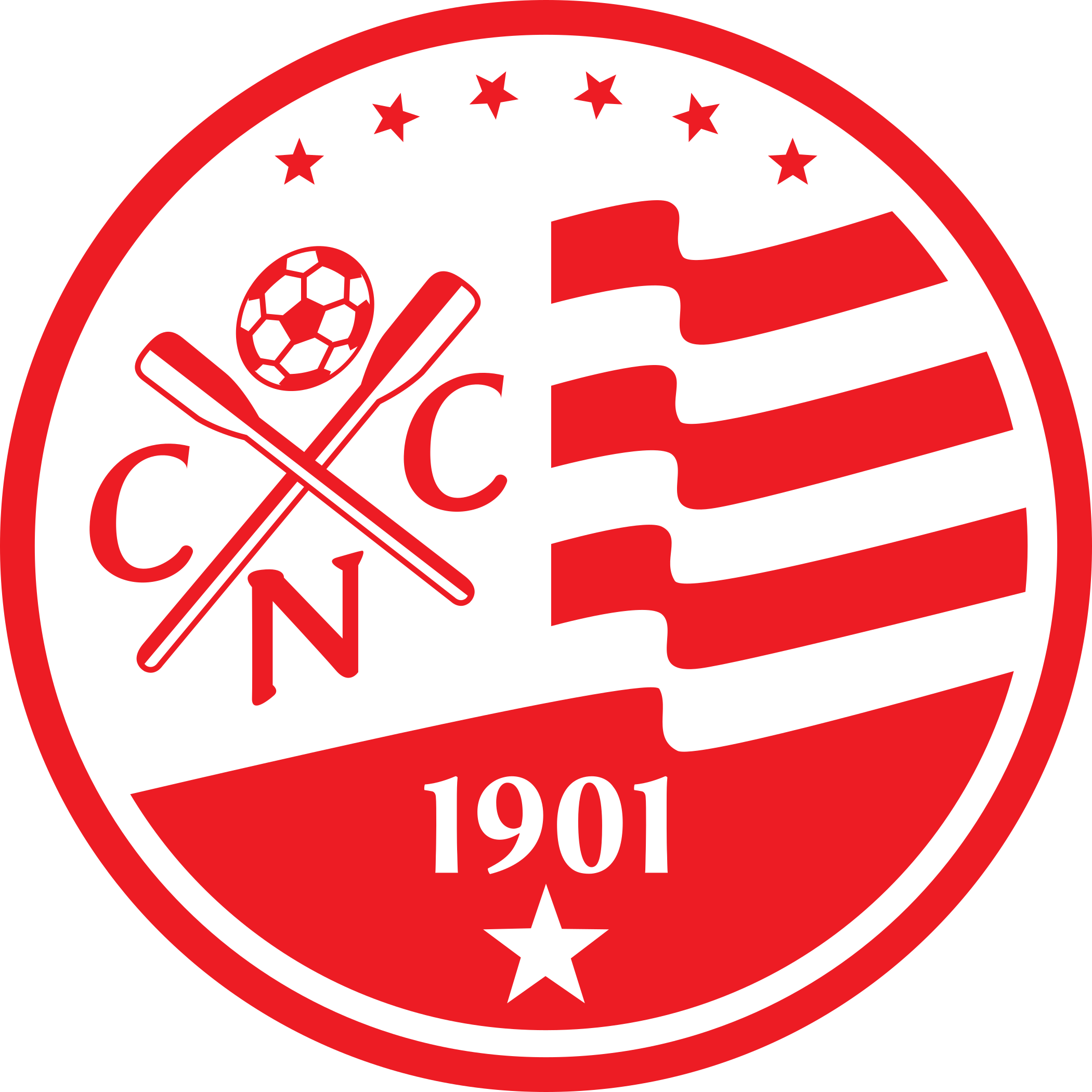 nautico logo escudo 1 - Náutico Logo - Escudo - Clube Náutico Capibaribe Logo - Escudo