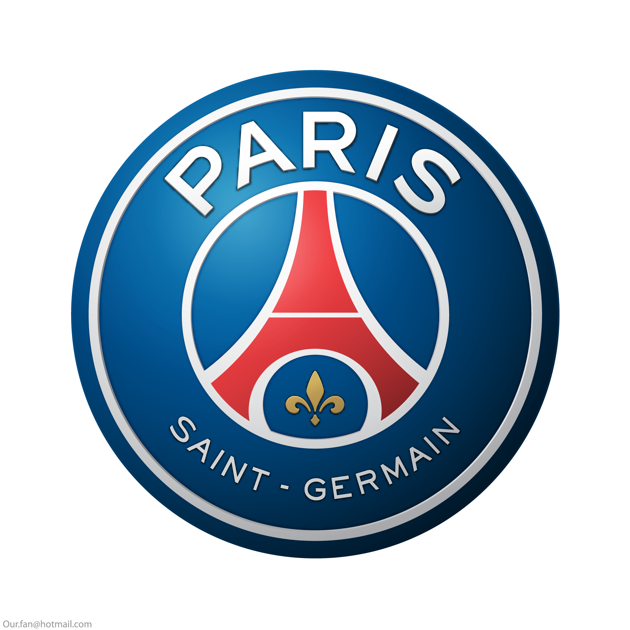 psg logo escudo paris saint germain 1 - PSG Logo - Paris Saint-Germain Logo