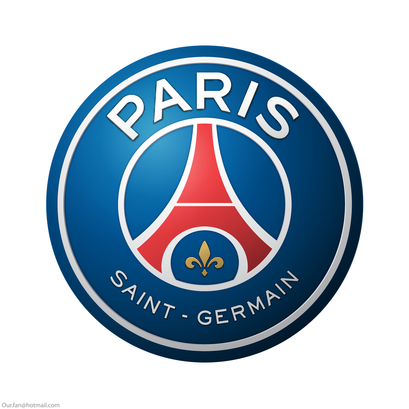 psg logo escudo paris saint germain 2 - PSG Logo - Paris Saint-Germain Logo