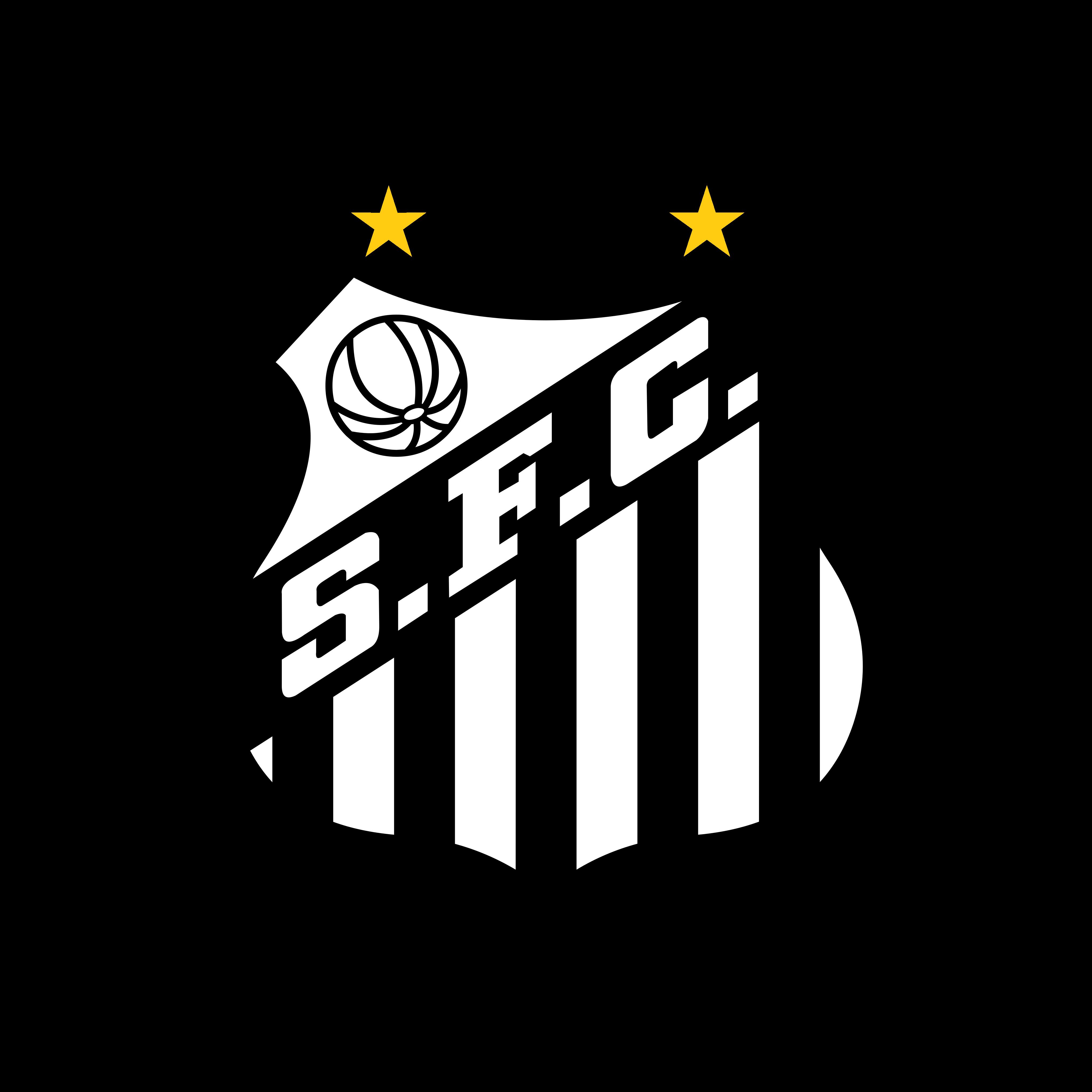 santos logo 0 - Santos FC Logo - Escudo