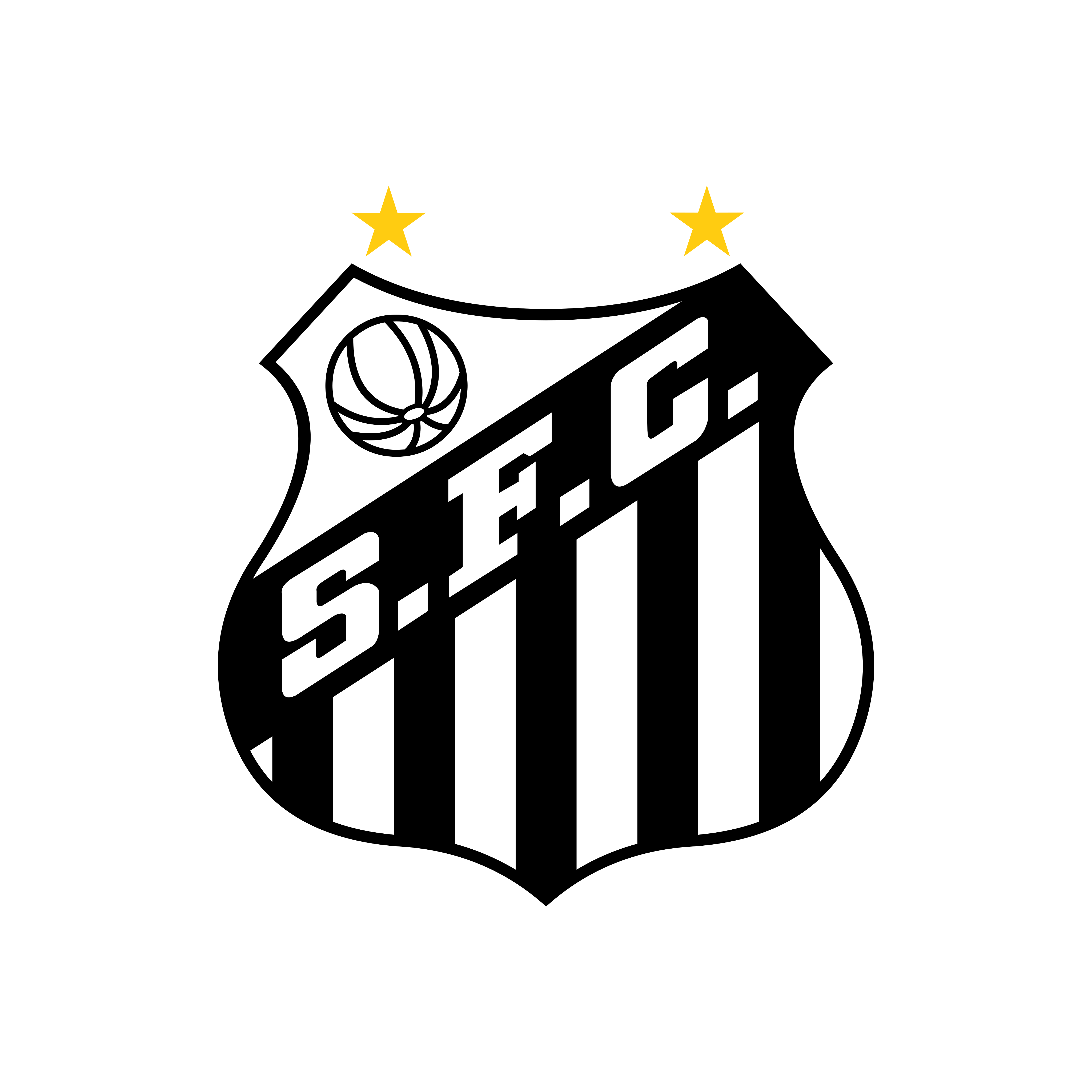 santos logo 0 - Santos FC Logo