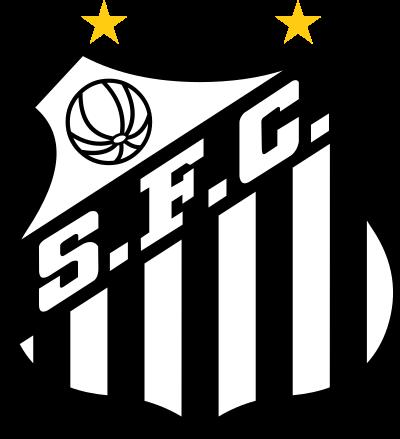 santos logo escudo 10 - Santos FC Logo