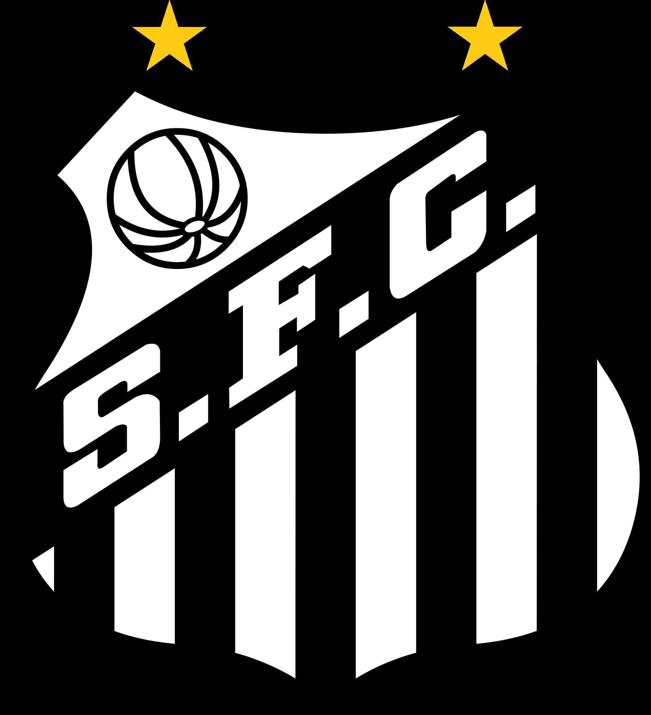 santos logo escudo 2 - Santos FC Logo
