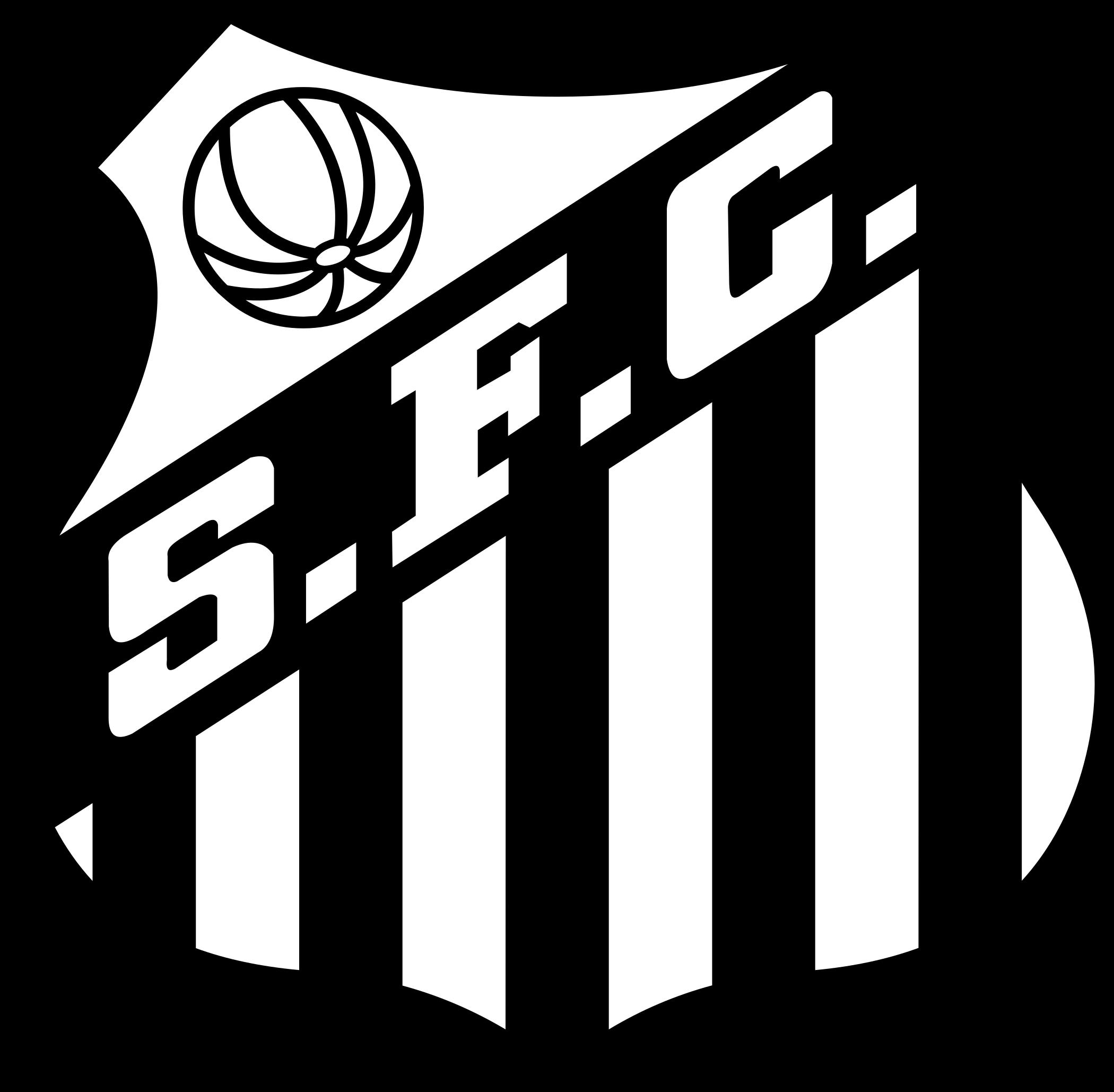 santos logo escudo 3 - Santos FC Logo