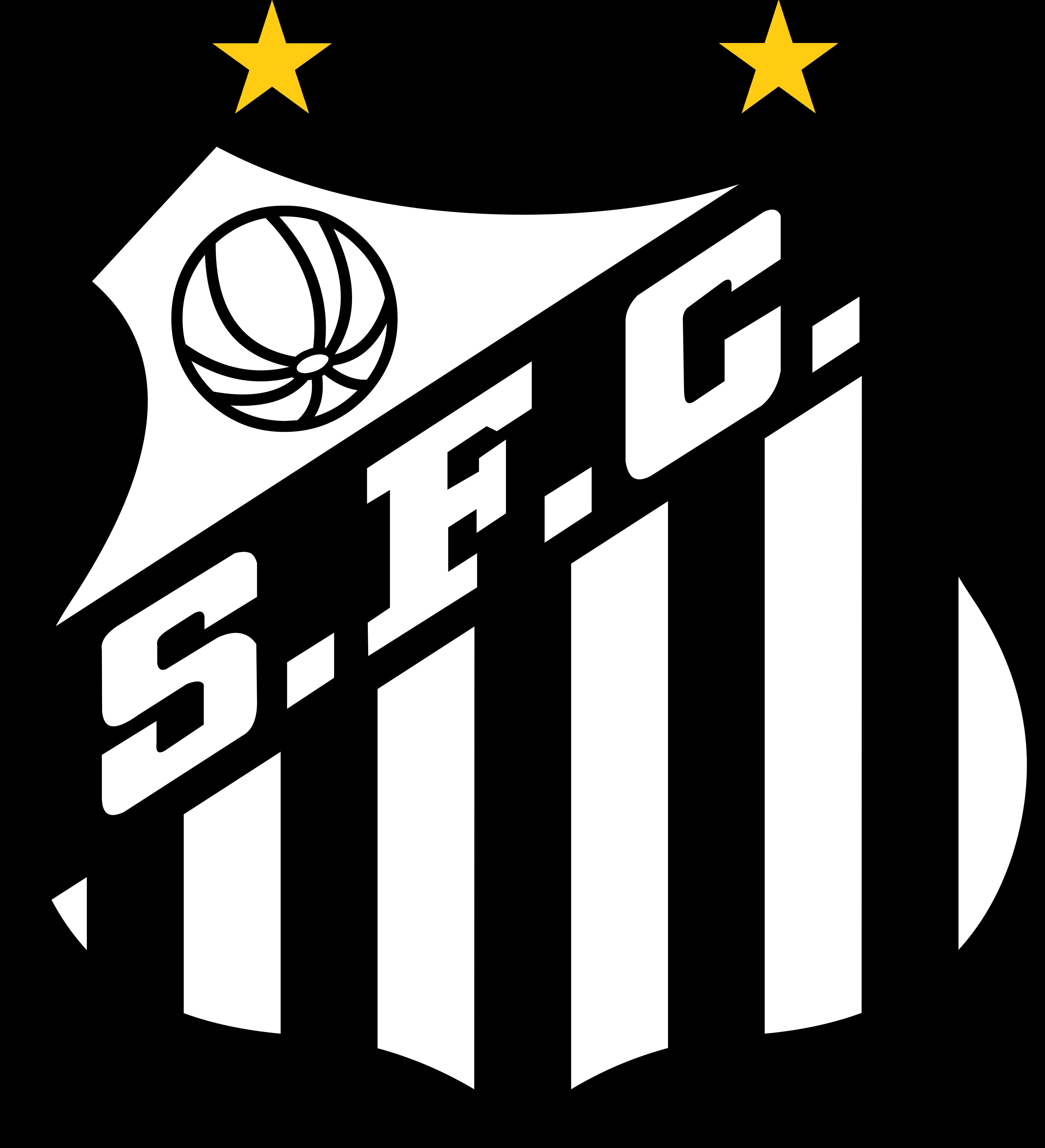 santos logo escudo - Santos FC Logo