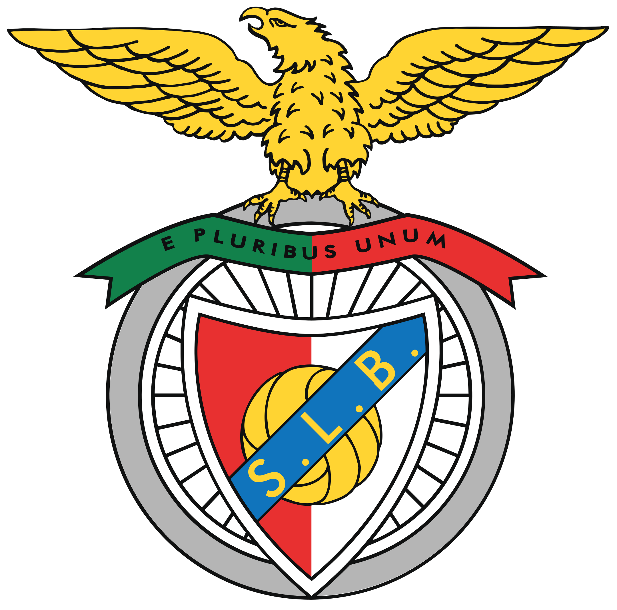 sl benfica logo 1 - SL Benfica Logo