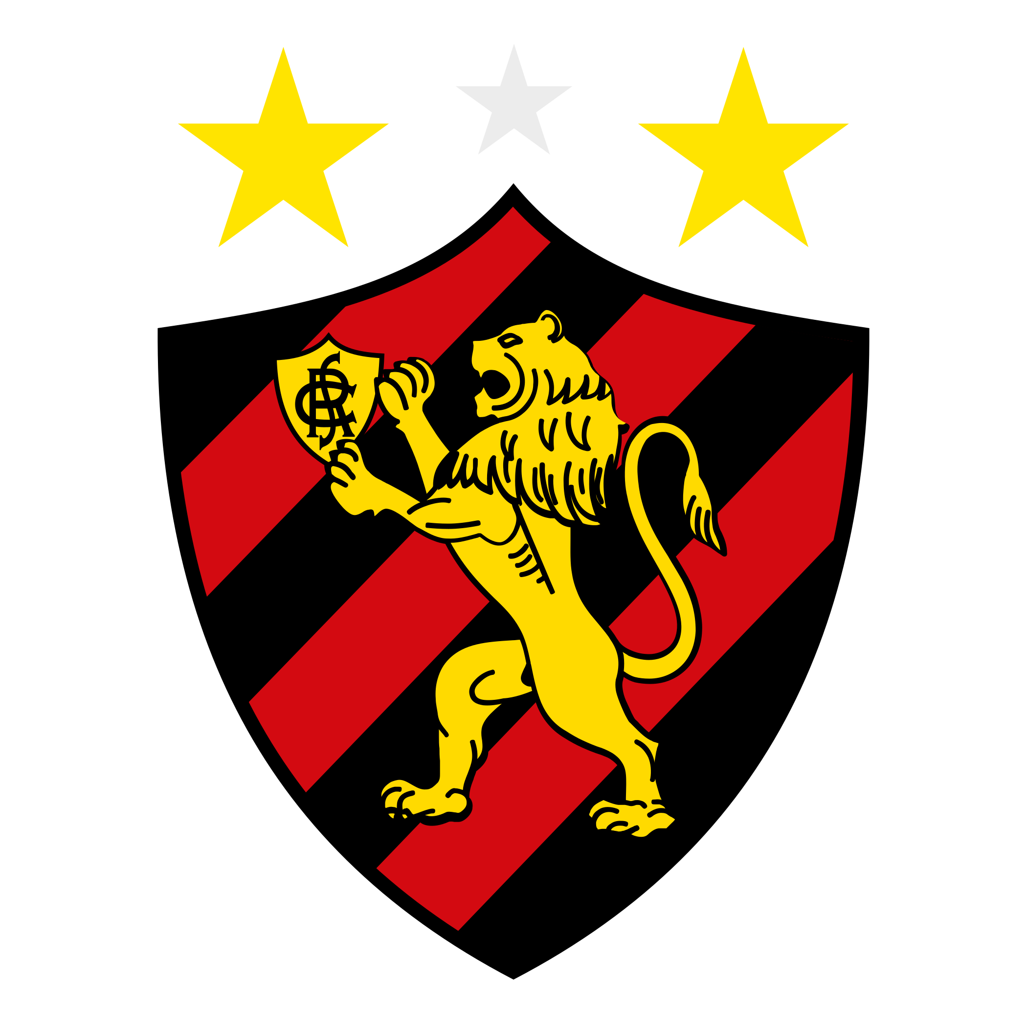sport recife logo escudo 2 - Sport Club do Recife Logo - Escudo