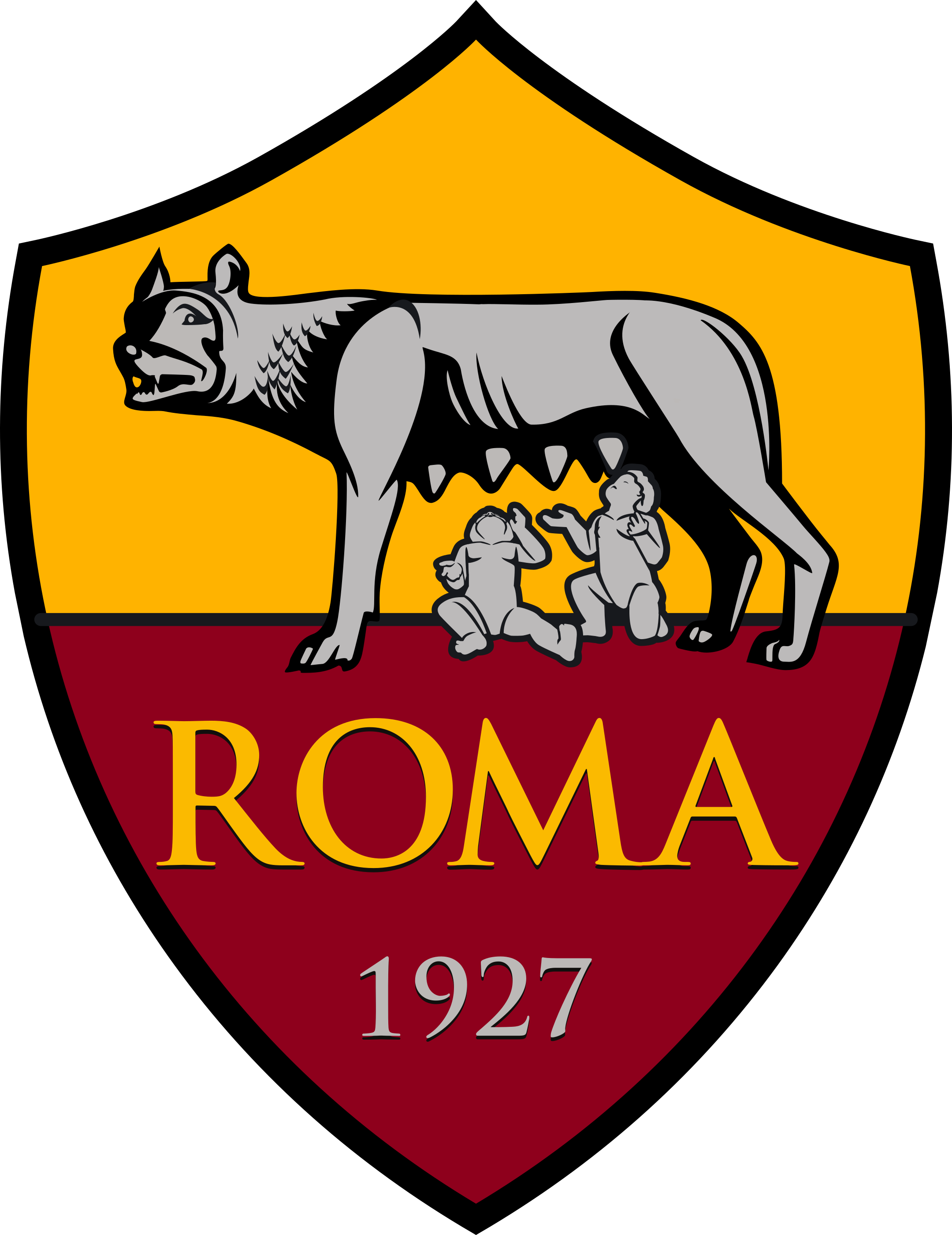 as roma logo 1 - AS Roma Logo