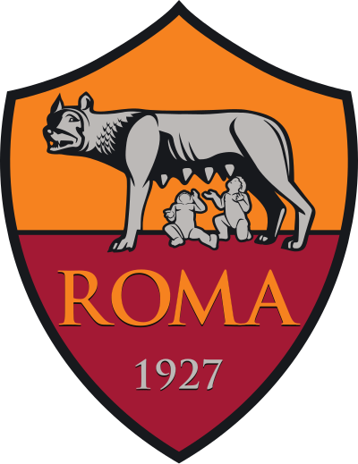 As Roma Logo, escudo.