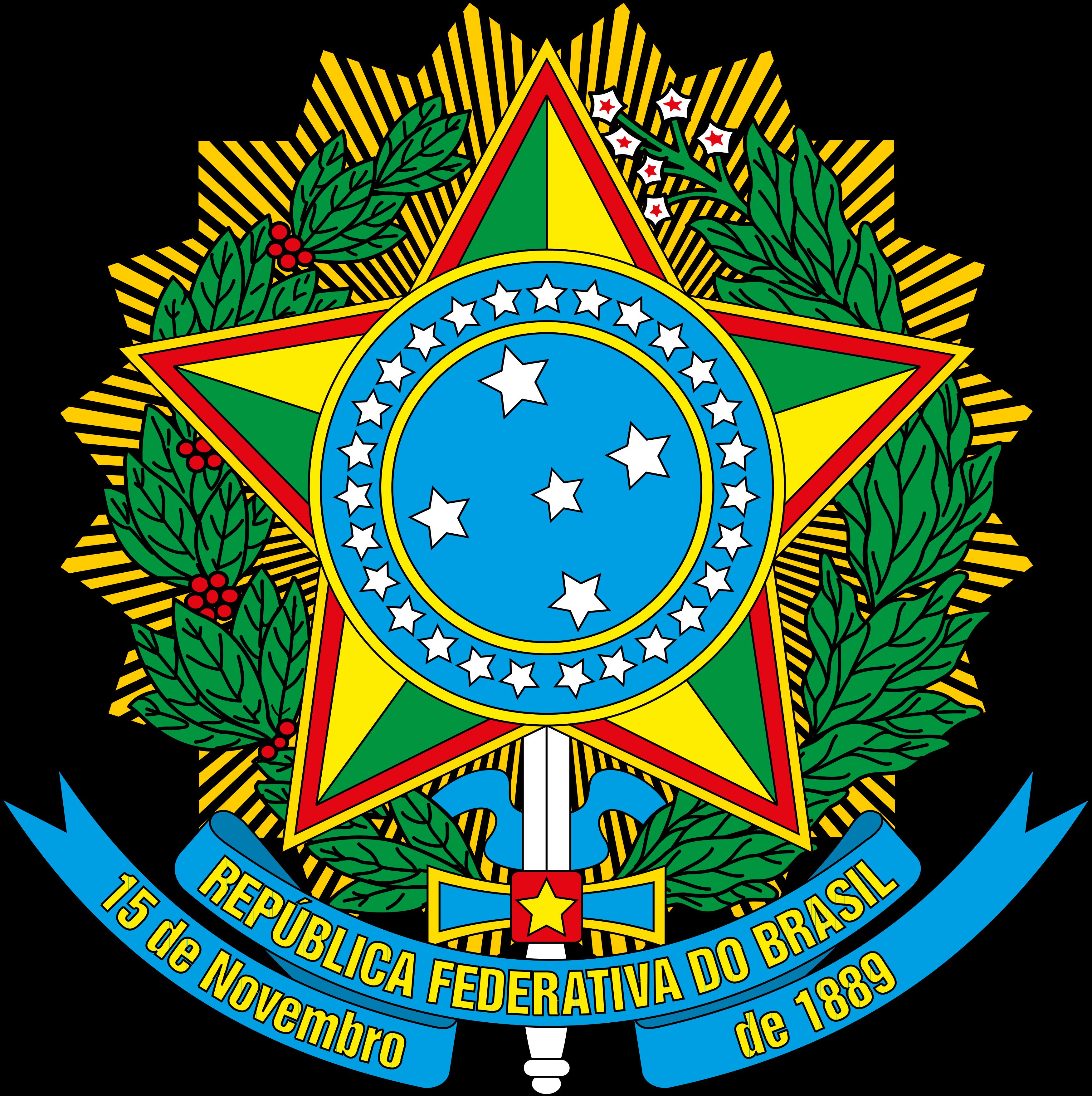 Brasão do Brasil, República.