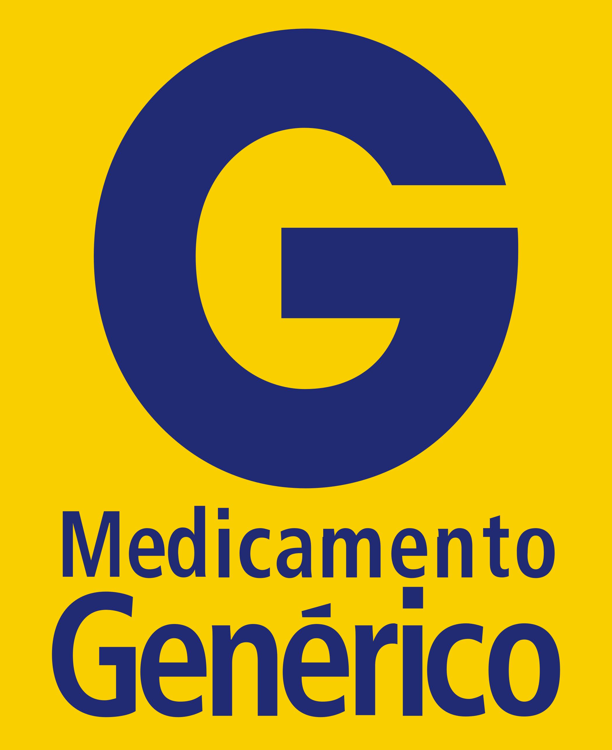 medicamento generico logo 4 - Genérico Logo - Medicamento Genérico Logo