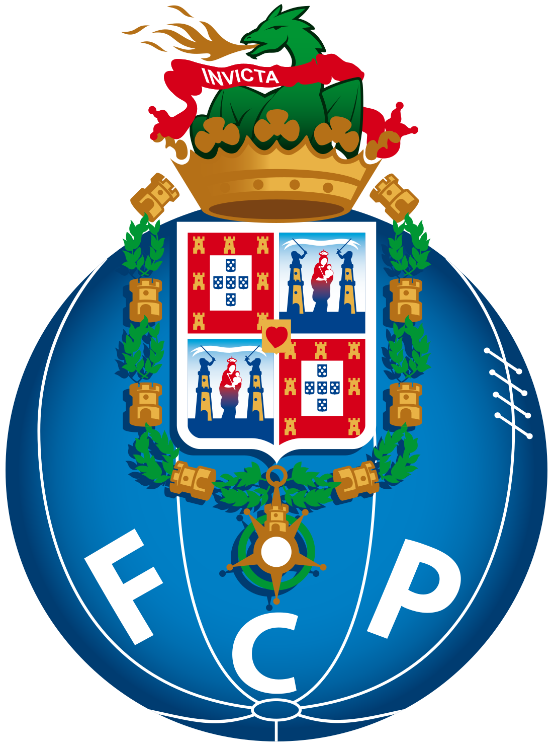 FC Porto Logo U2013 Escudo PNG E Vetor Download De Logo