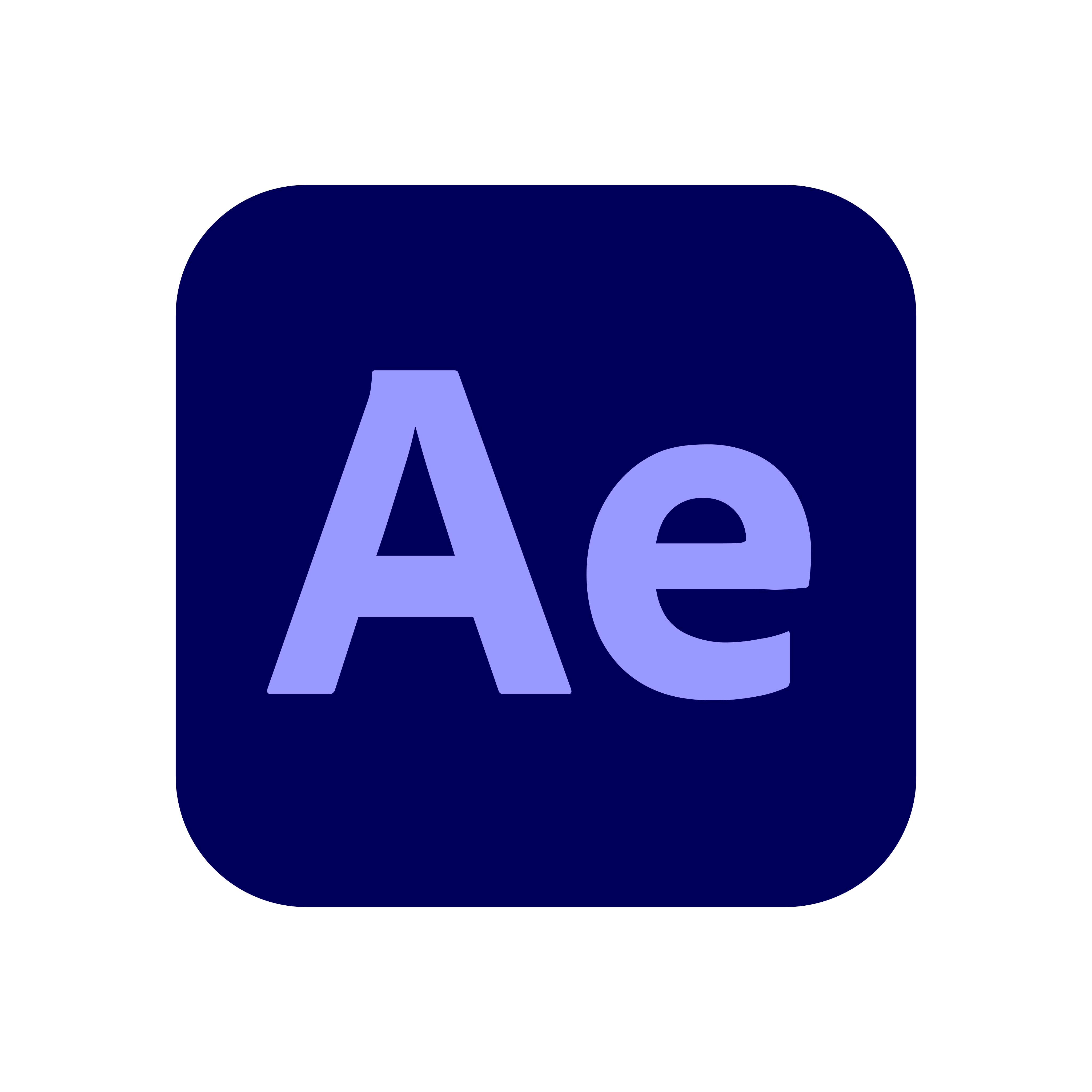 adobe after effects logo 0 - Adobe After Effects Logo