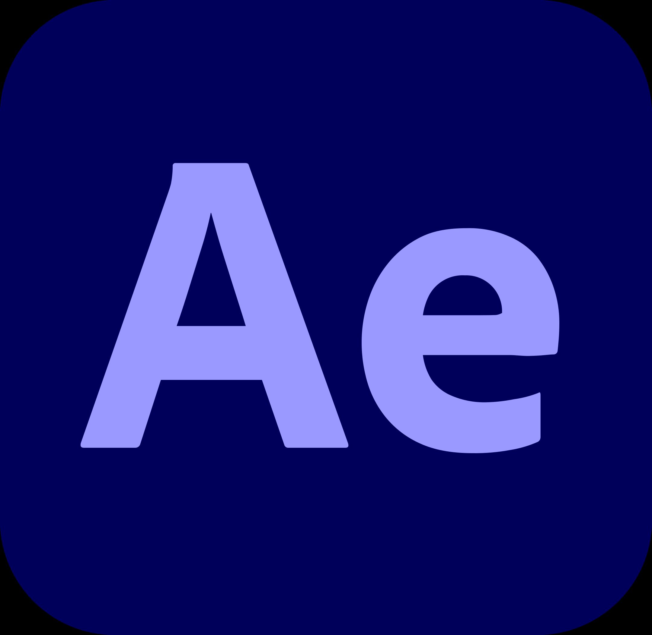 adobe after effects logo 1 1 - Adobe After Effects Logo