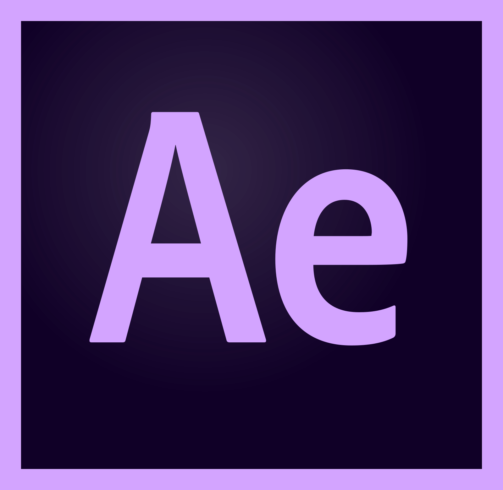 adobe after effects logo 2 - Adobe After Effects Logo