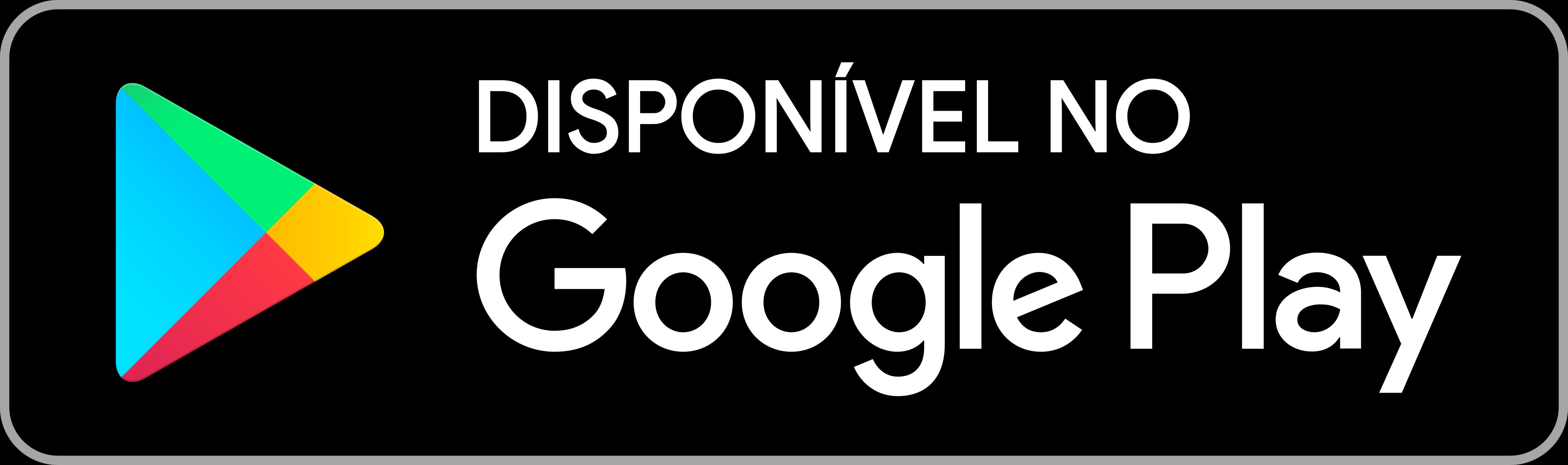 Disponível no Google Play Logo, badge.