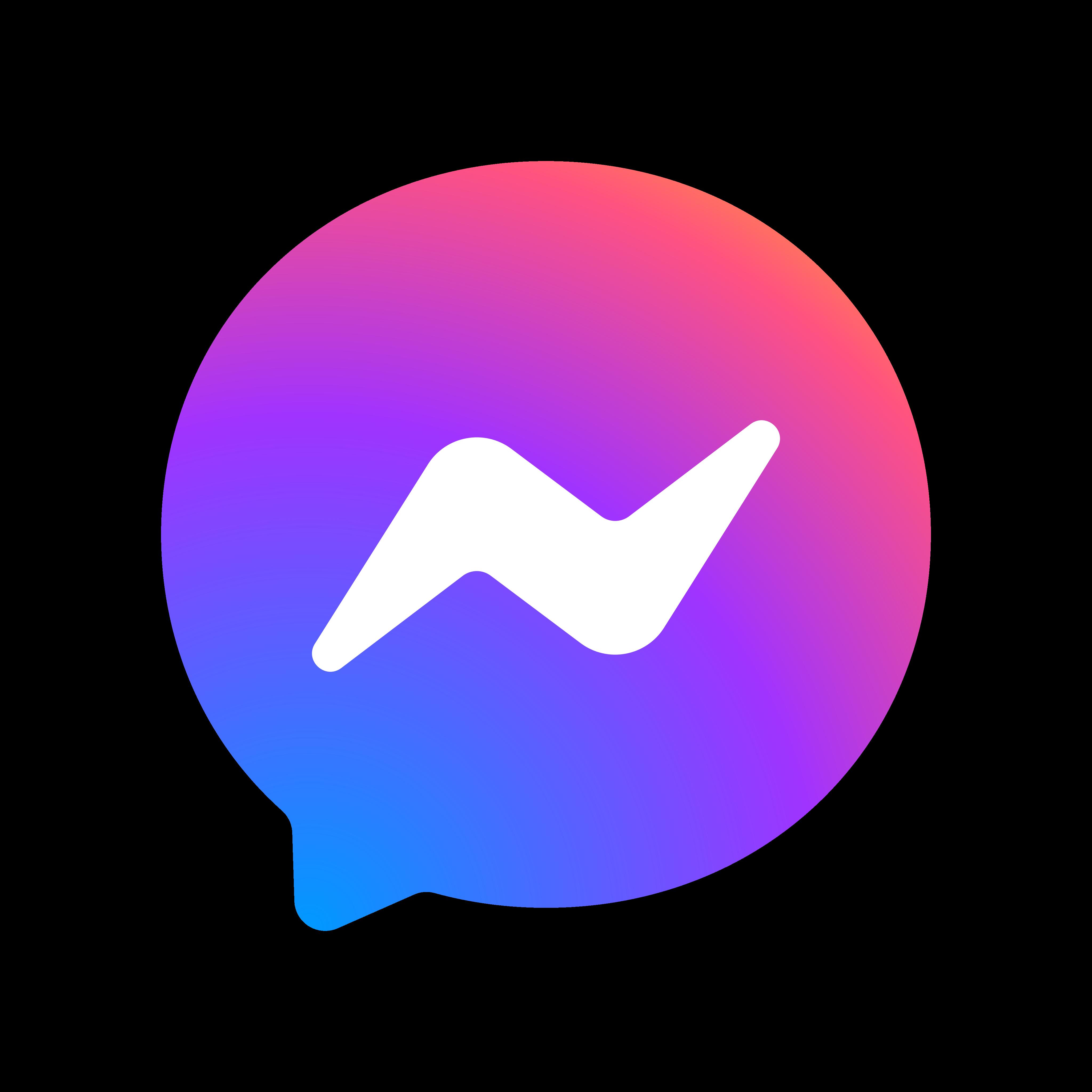 facebook messenger logo 0 1 - Facebook Messenger Logo