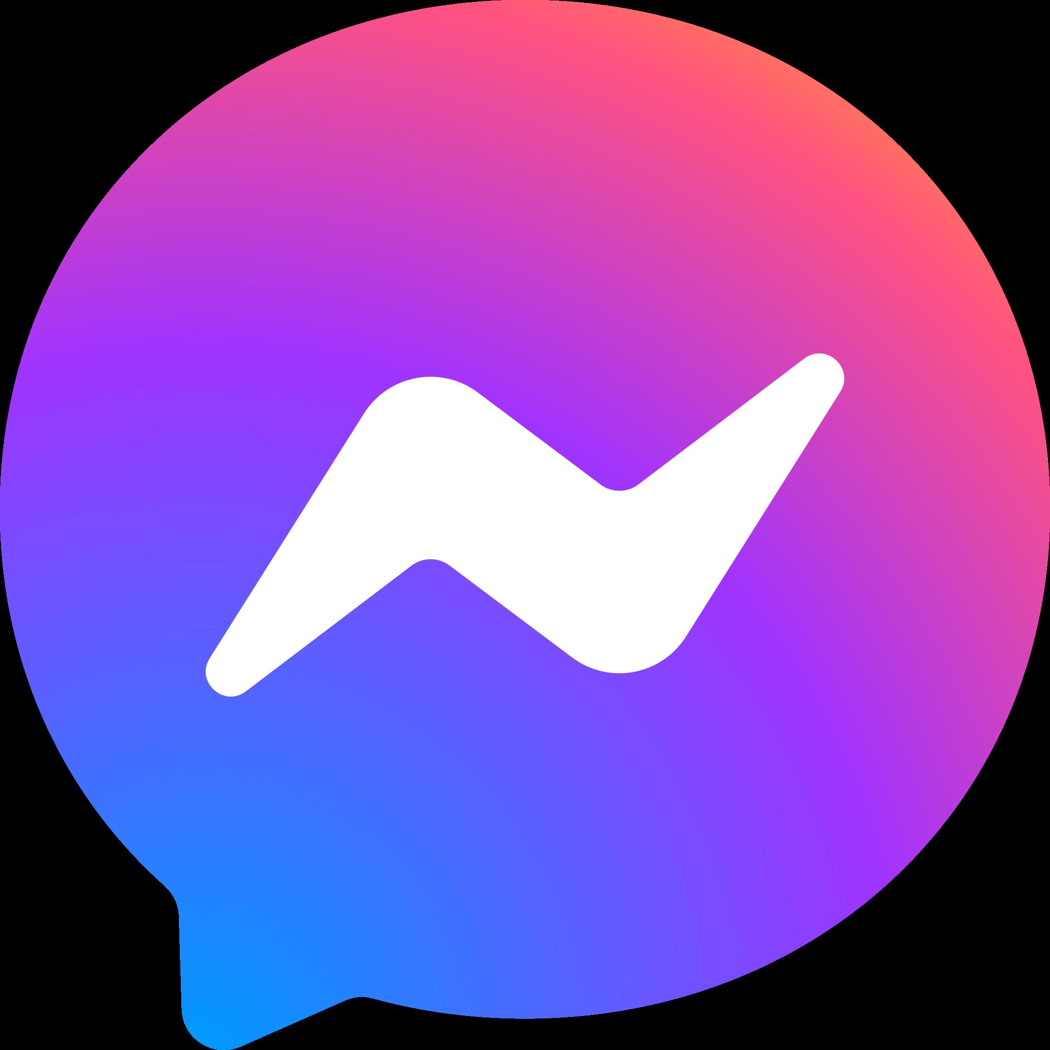 facebook messenger logo 1 1 - Facebook Messenger Logo