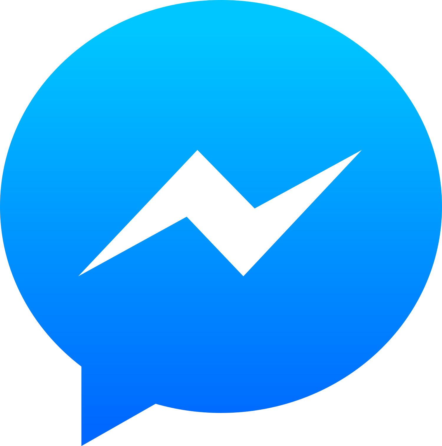 facebook messenger logo.