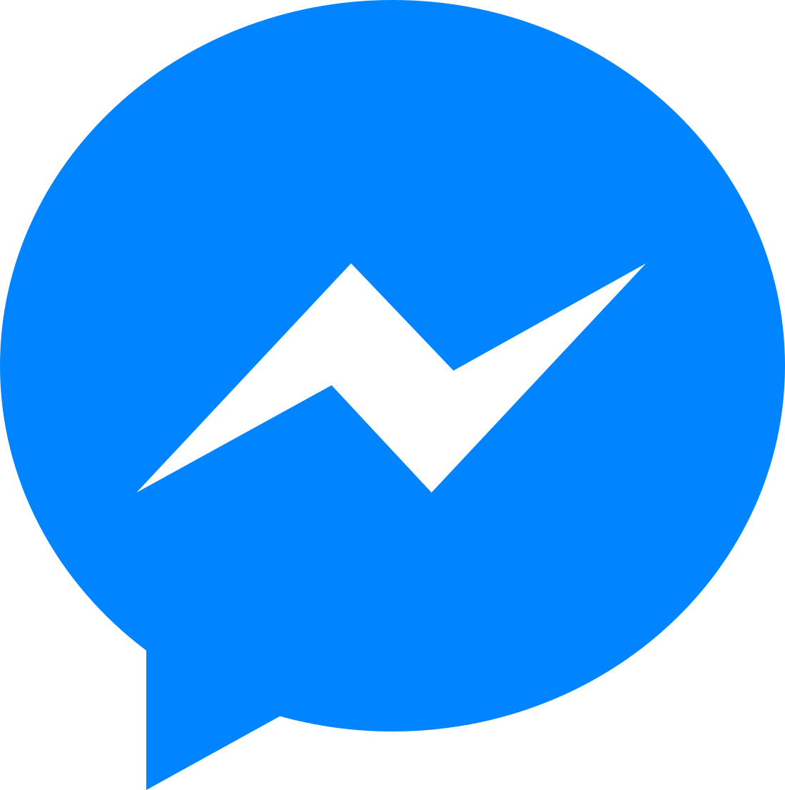 facebook messenger logo 3 - Facebook Messenger Logo