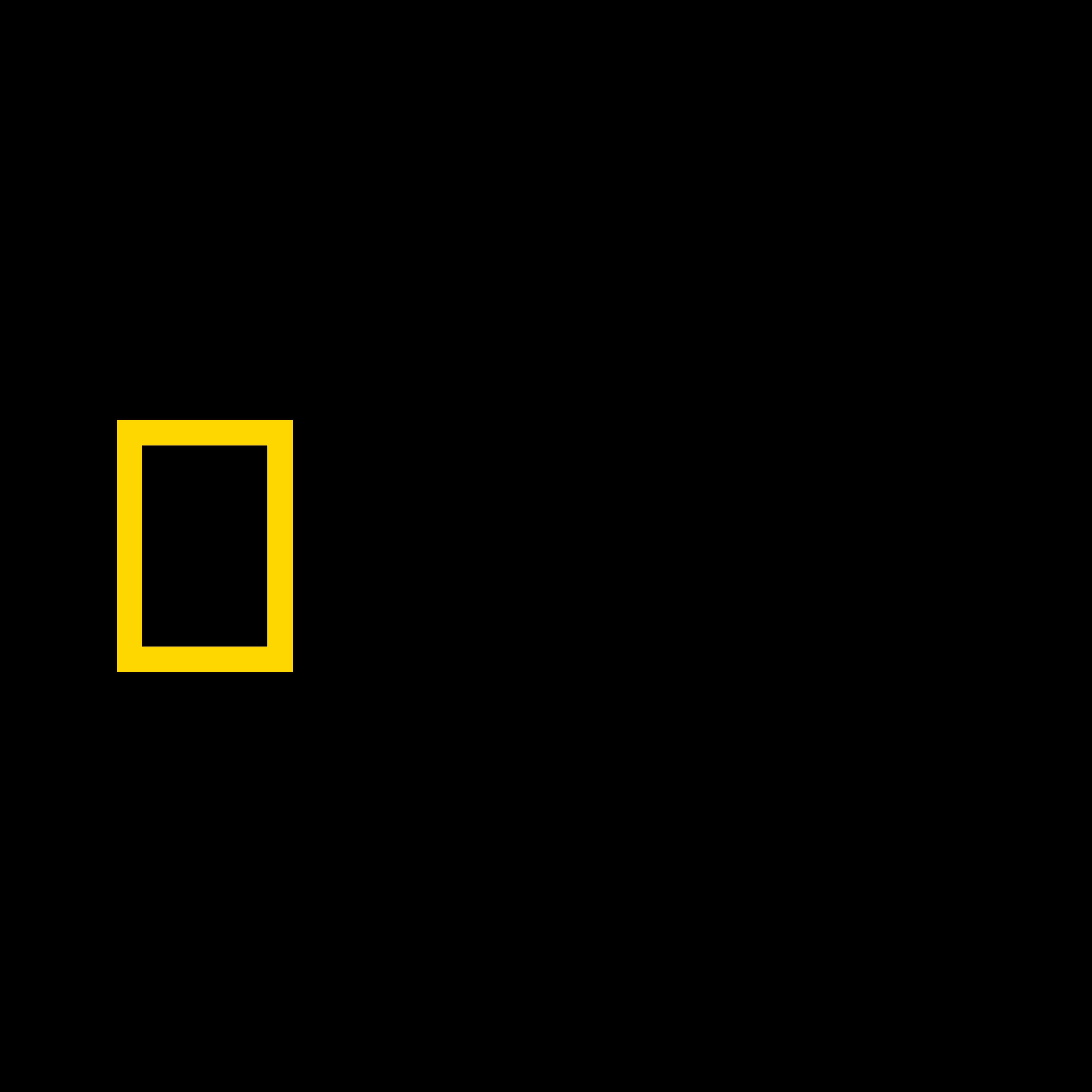 national geographic logo 0 - National Geographic Logo