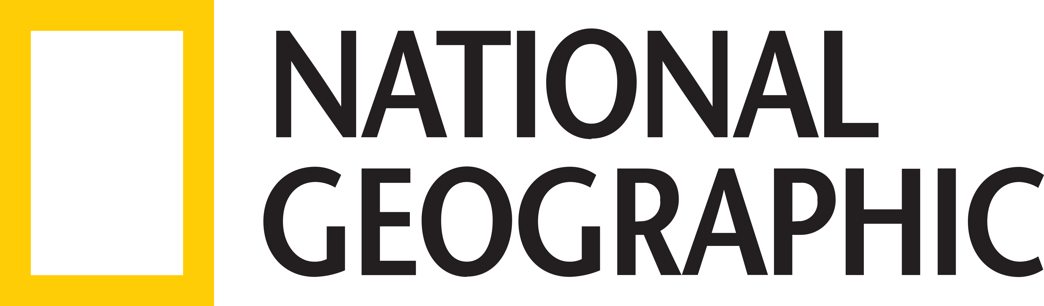 national geographic logo - National Geographic Logo