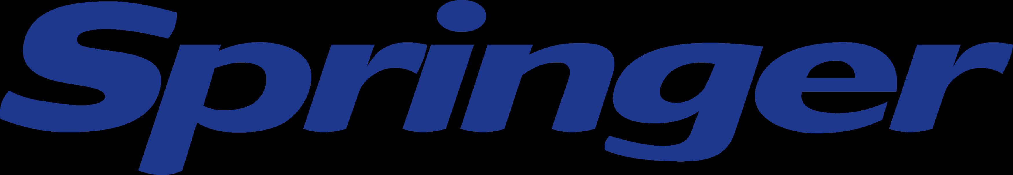 springer logo.