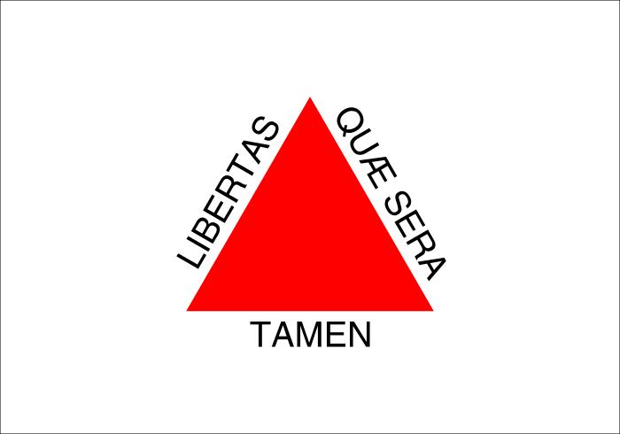 Bandeira do Estado de Minas Gerais.
