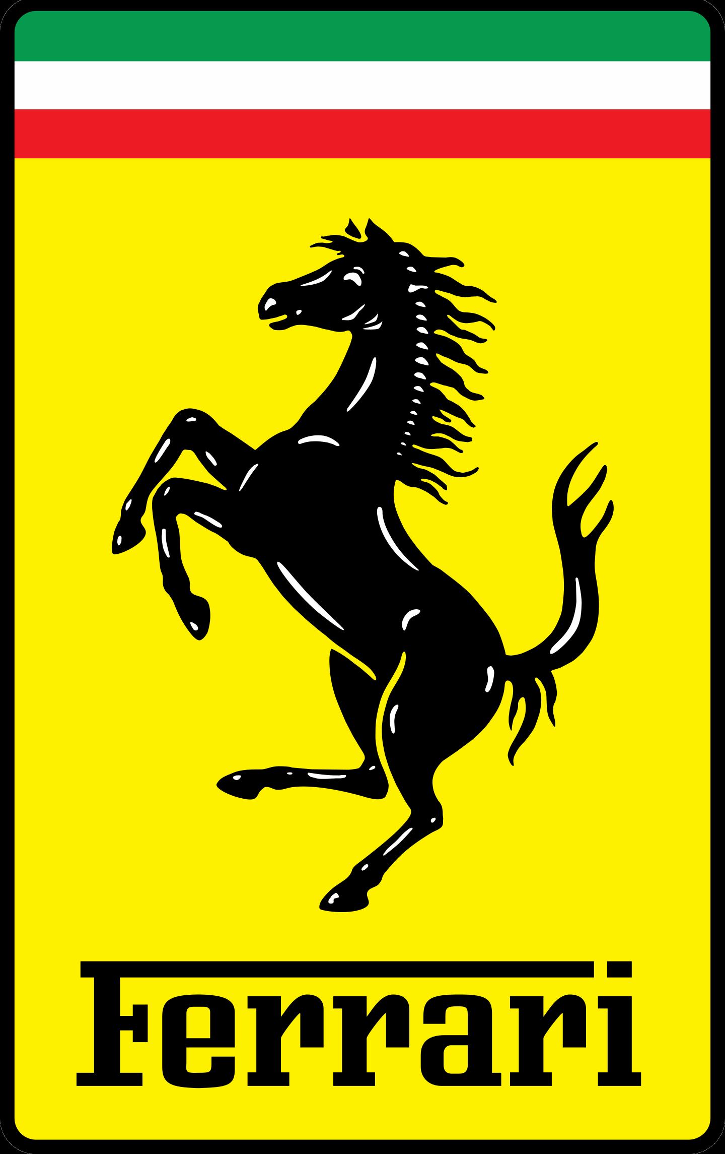ferrari logo 2 1 - Ferrari Logo