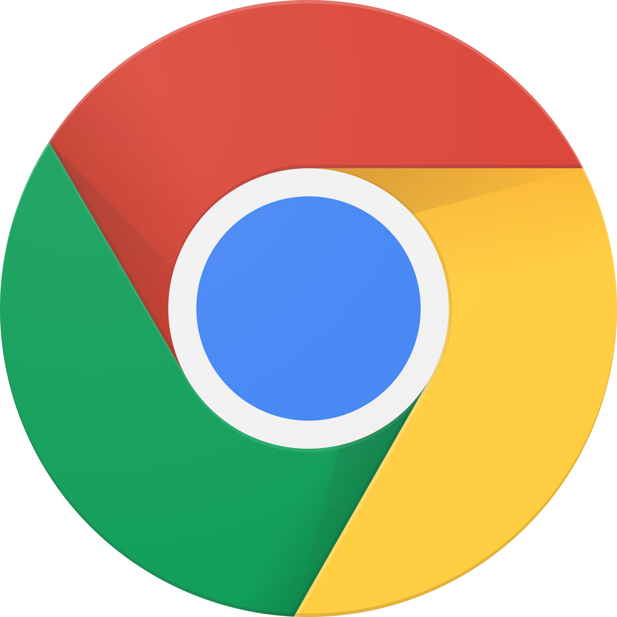 google chrome logo 2 - Google Chrome Logo