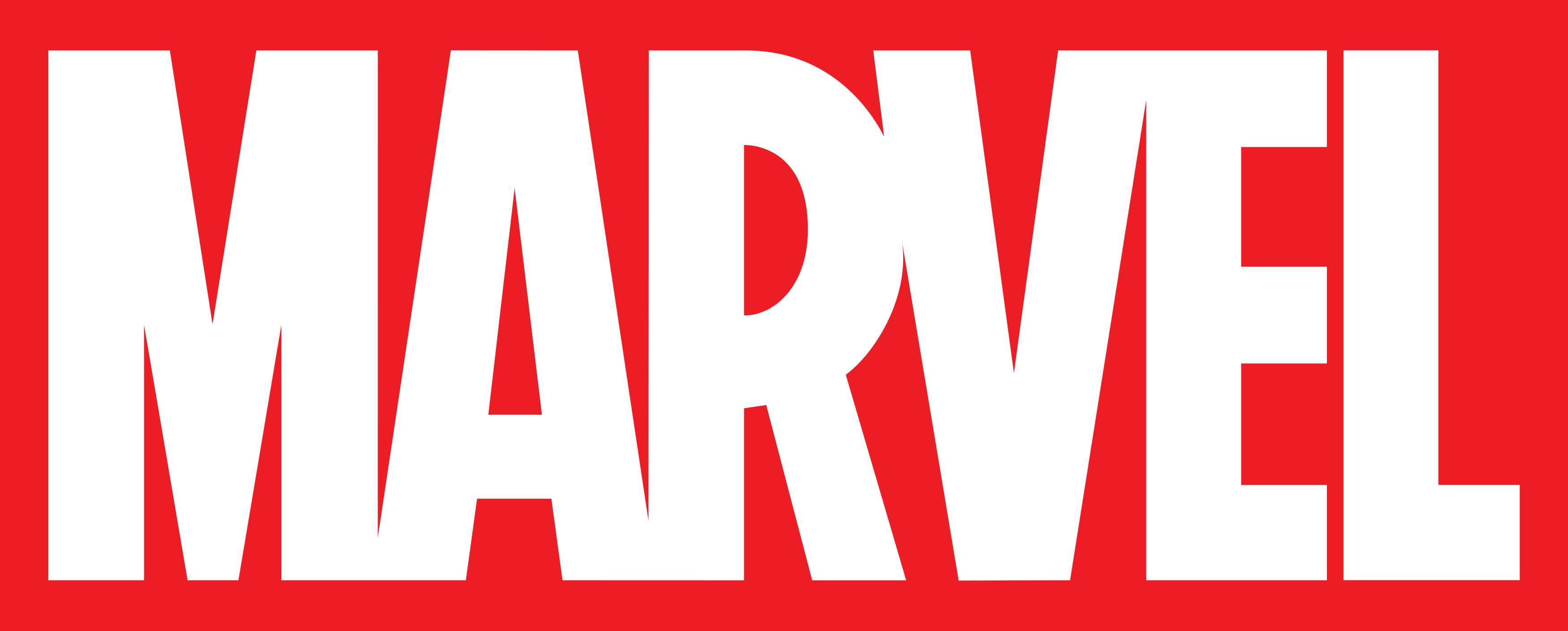 Marvel logo.