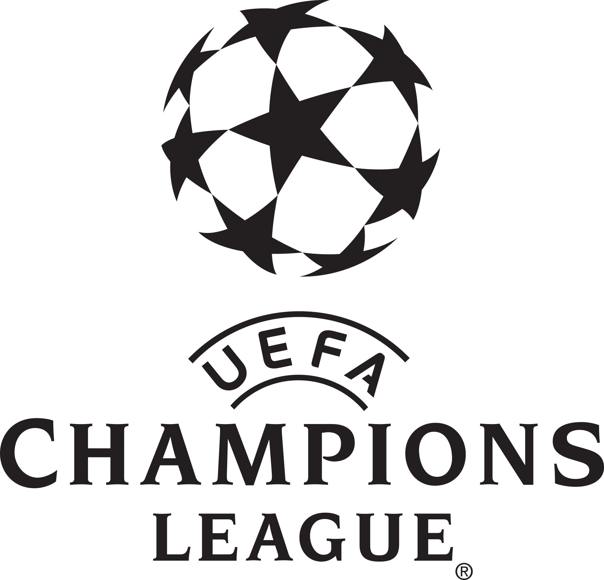 uefa champions league logo 1 - UEFA Champions League Logo
