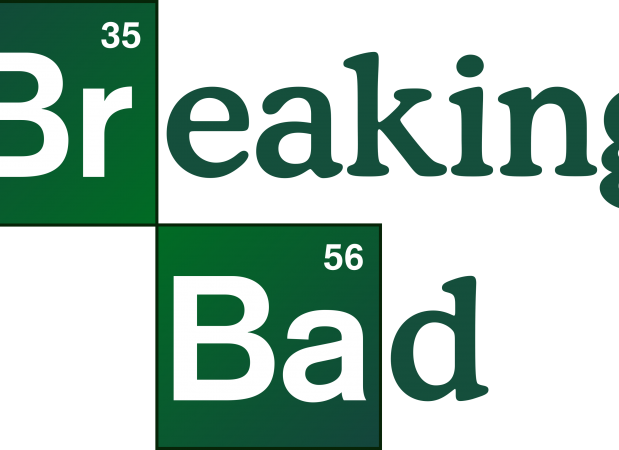 Breaking Bad logo.