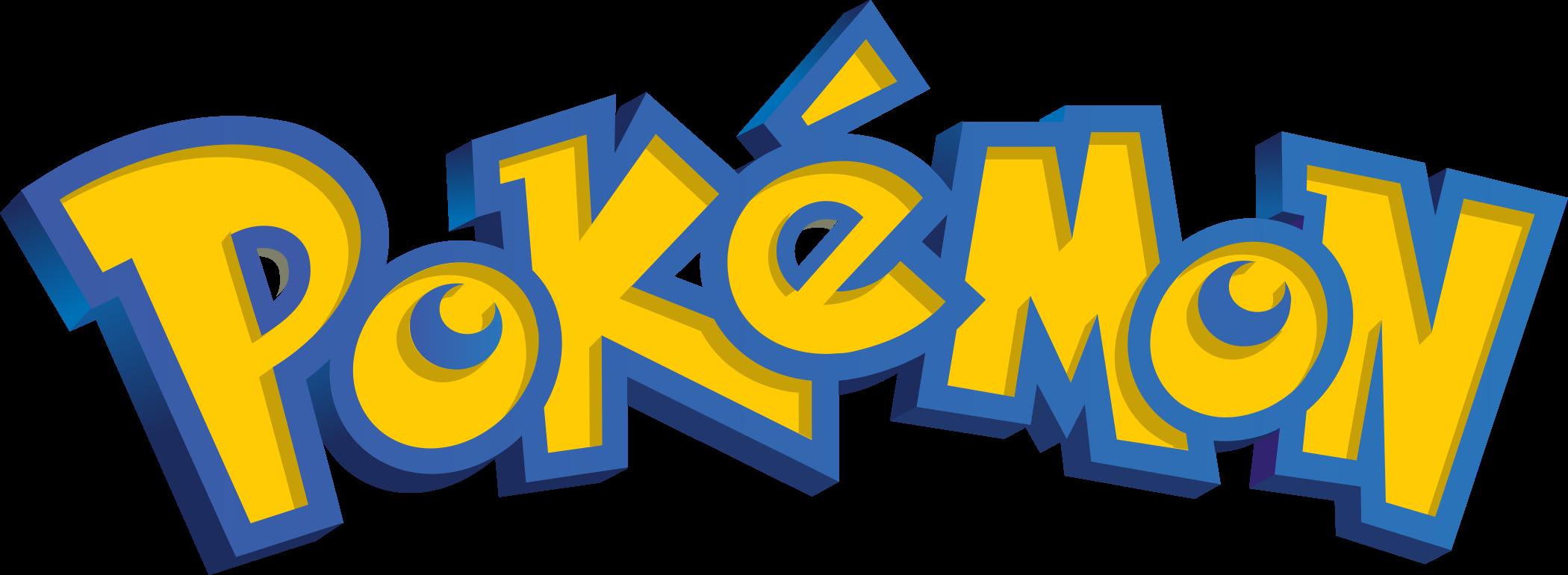 pokemon logo 1 - Pokémon Logo