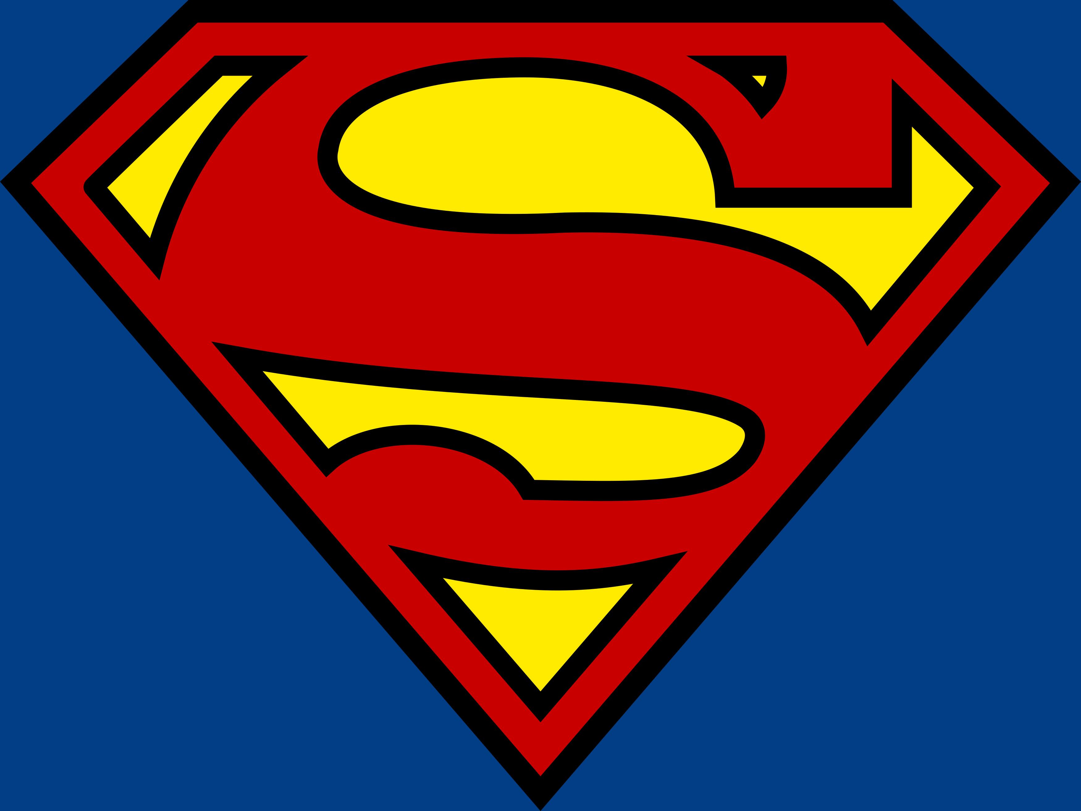 Superman Logo, Super homem logo.