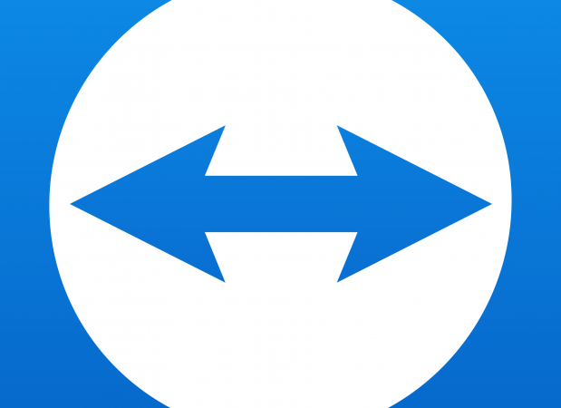 TeamViewer logo.