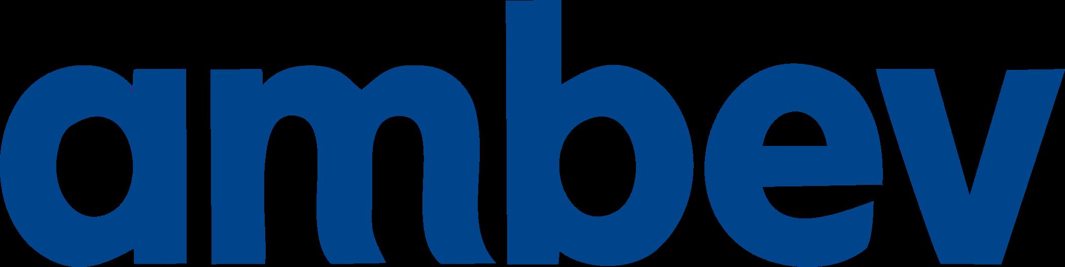Ambev logo.