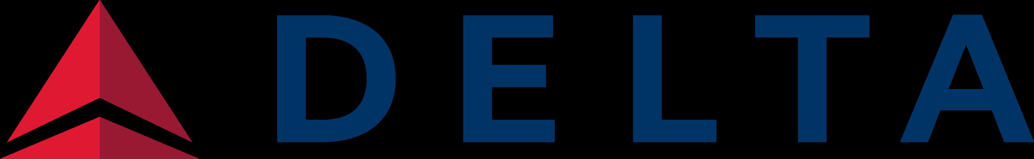 Delta Air Lines Logo.