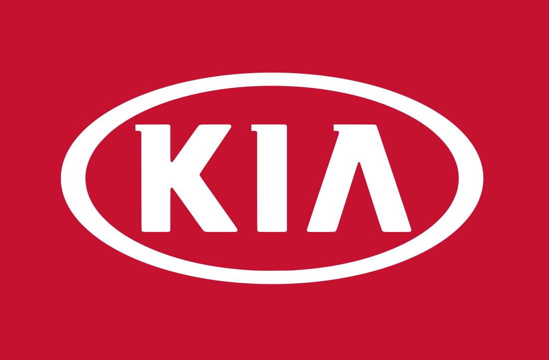 Kia logo.