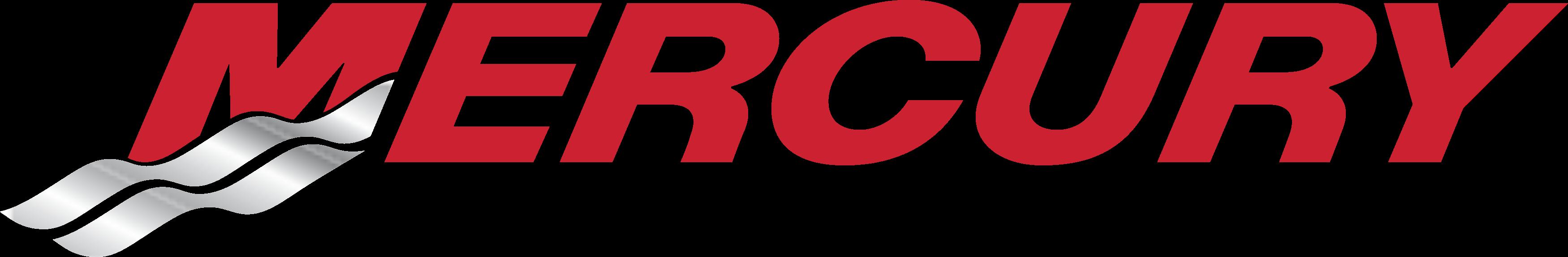 Mercury Marine Motors logo.