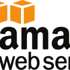 AWS, Amazon web services logo.
