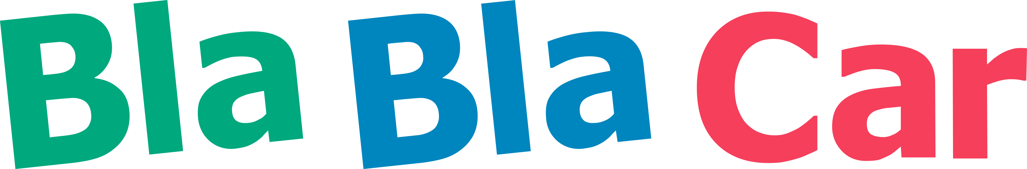 Bla Bla Car logo.